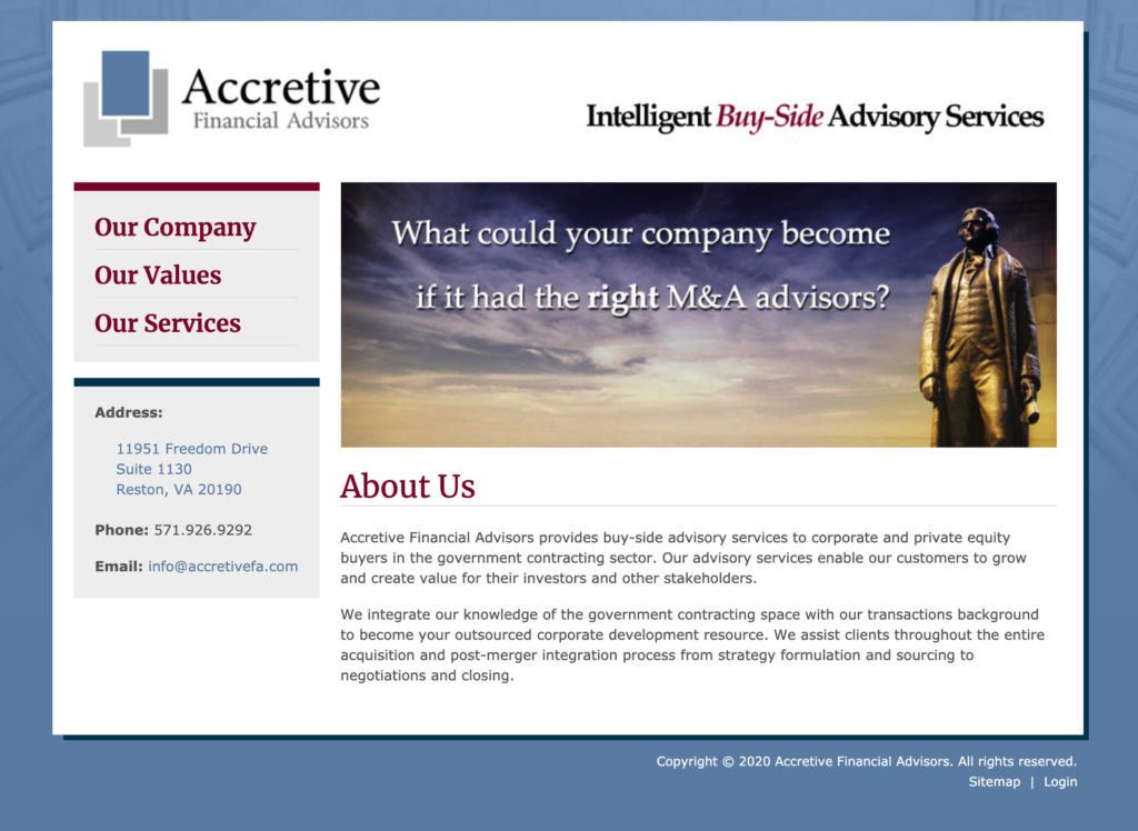 Accretive Financial Advisors